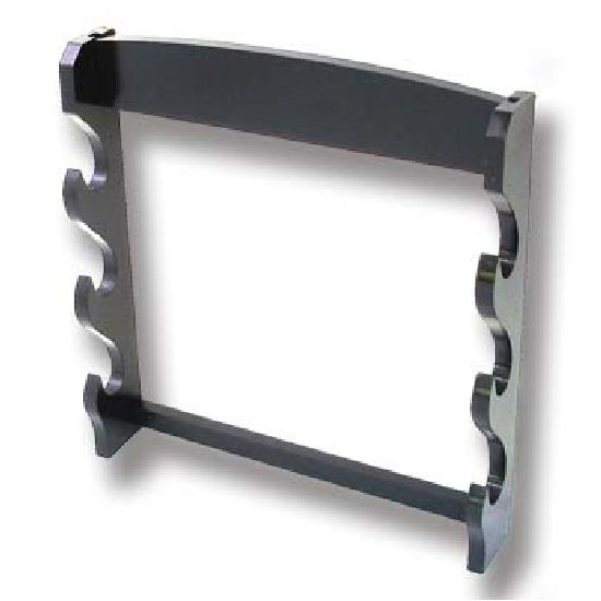 Sword Stand 3 Tier : Wall Mounted