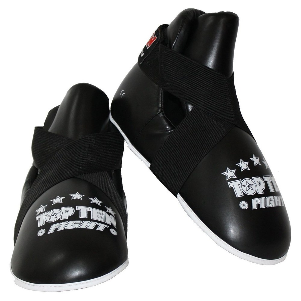 Top Ten Pointfighter Sparring Boots - Black